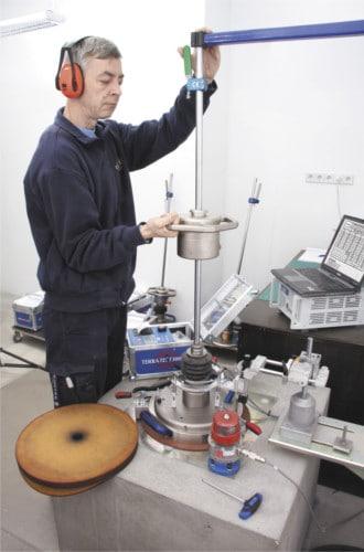 Eigener Kalibrierstand für Leichte Fallgewichtsgeräte