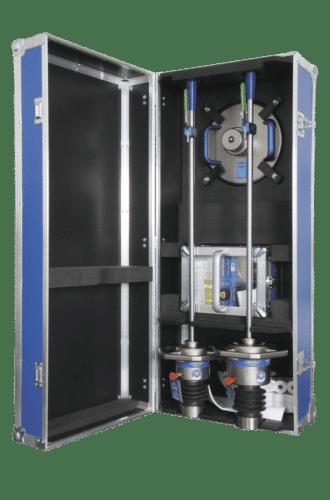 Unsere Transportbox ROMA für 10 und 15 kg-Fallgewicht